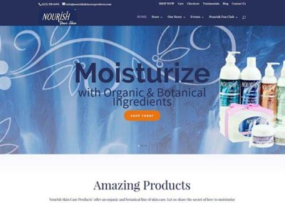 Nourish Skincare Products