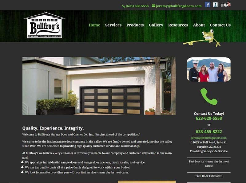Website Design and Maintenance - Peoria AZ | Websites by Toni