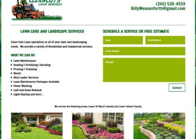Clean Cuts Lawn Services
