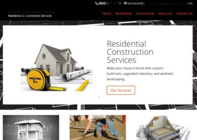 Home Improvement-Contractor Website