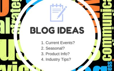 Ideas for Adding Content to Your Blog