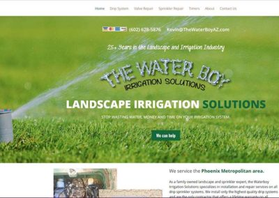 The Water Boy Irrigation Solutions